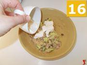 Terminate la preparazione dell'antipasto