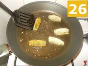 La frittura delle crocchette
