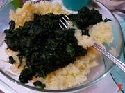 unisco gli spinaci le uova e il formaggio