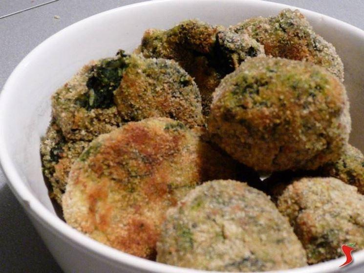crocchette patate e spinaci