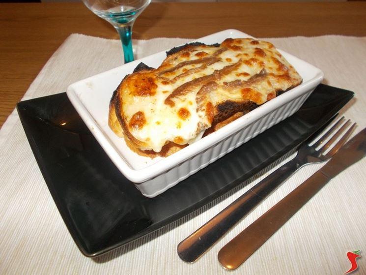 Crostino mozzarella