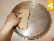 Proseguite con il pane
