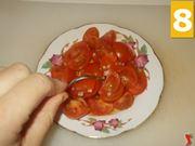Terminare la preparazione dei pomodorini