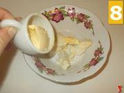Preparazione del gorgonzola