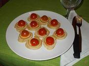I crostini al pomodoro