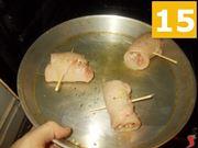 Cuocere gli involtini