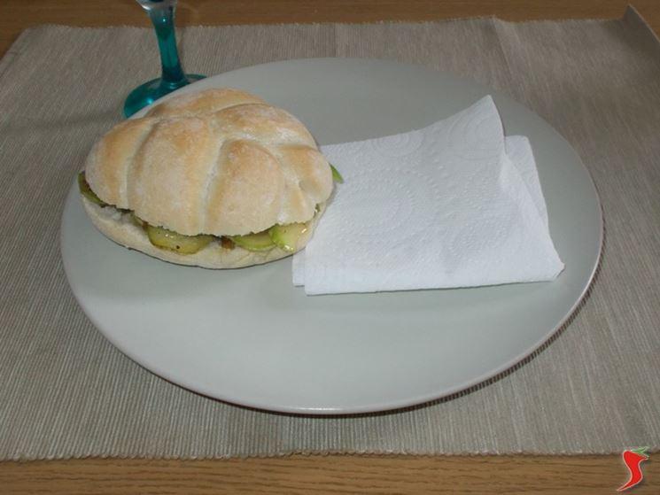 Il panino vegetariano
