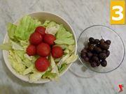 lattuga pomodori olive