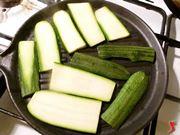 zucchine sulla piastra