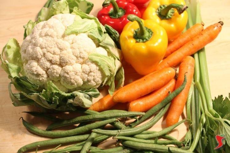 verdure sottolio