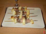 Spiedini al forno con patate