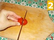 Spiedini salsiccia