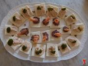 Le tartine al salmone