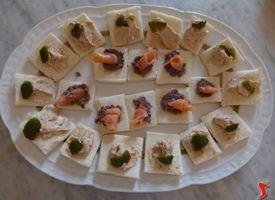 tartine salmone