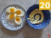 uova sode e maionese