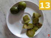 snocciolare le olive