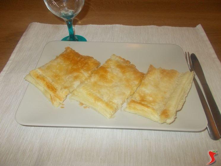 Torta salata pancetta e formaggio