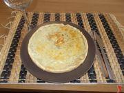 La torta salata ai formaggi