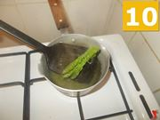 Finire con gli asparagi