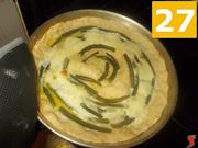 Cottura della torta salata