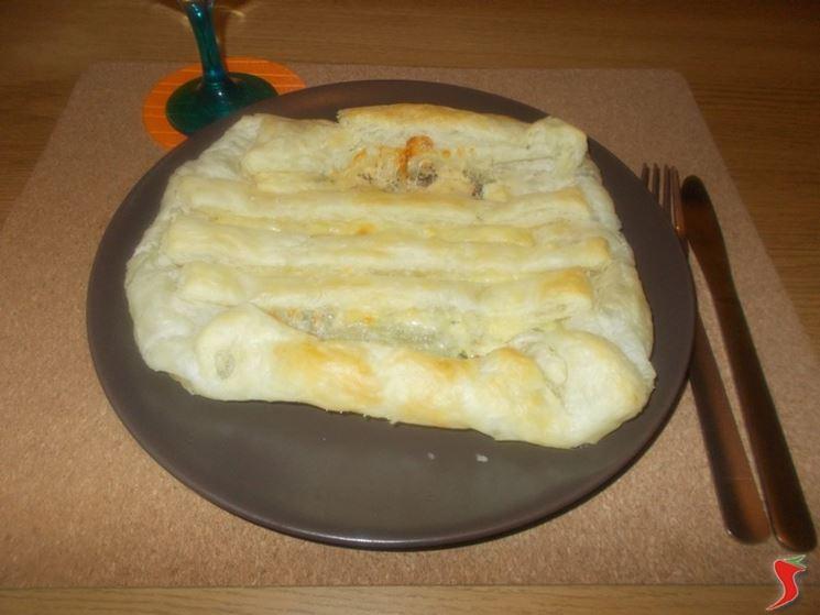 Torta salata formaggio