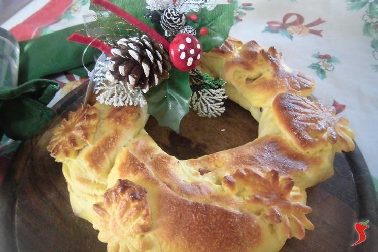 torta salata natalizia