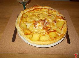 torta salata patate e cipolla