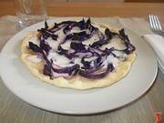 La torta salata al radicchio
