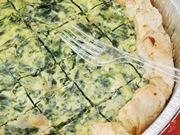 torta di ricotta e spinaci