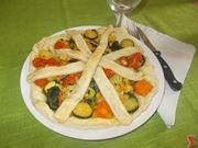 La torta salata vegetariana