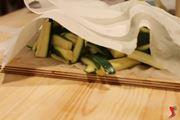 asciughiamo le zucchine
