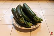 lavare zucchine