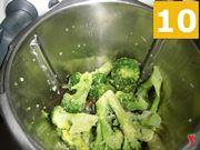 Amalgamare con i broccoletti