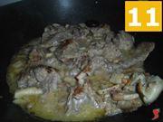 raffreddare carne e funghi