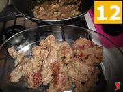 separare carne e funghi