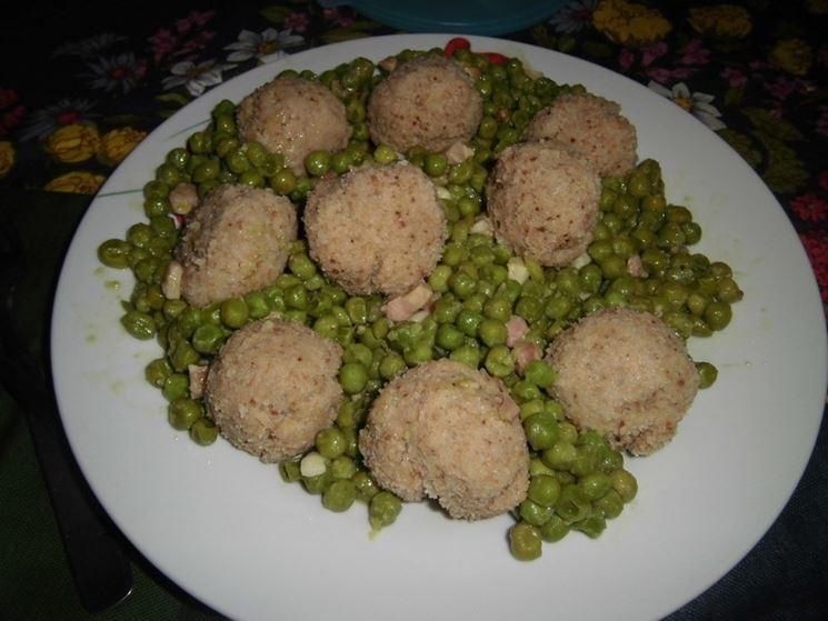 Polpette patate e carne