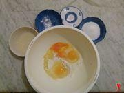 uova nel recipiente