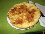 La crostata di mele e mascarpone