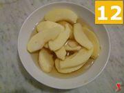 mettere a bagno le mele