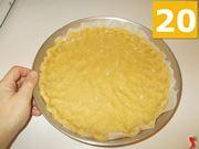Terminare la base per la crostata