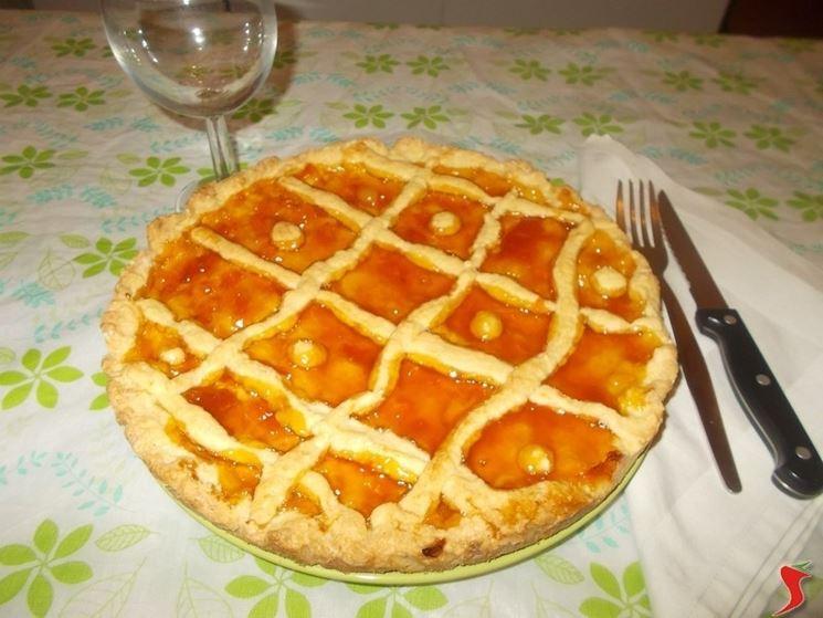 La crostata di albicocche
