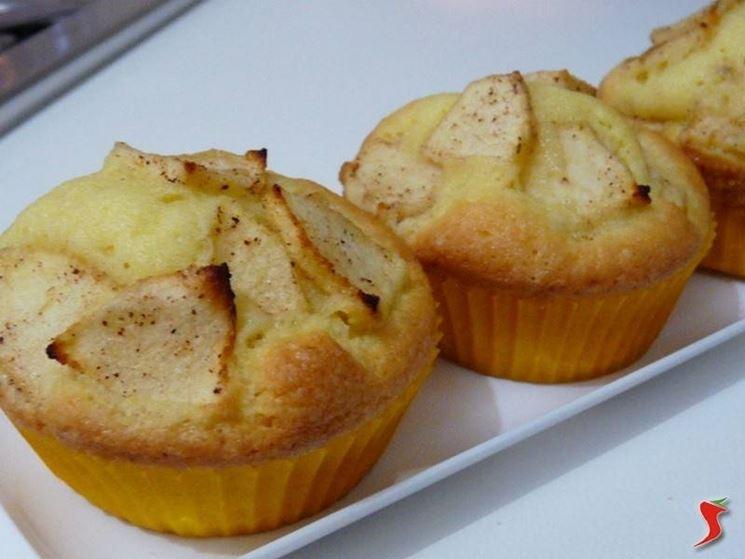 muffins con mela e cannella