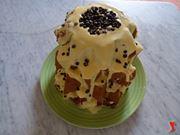 Il pandoro con mascarpone e cioccolato