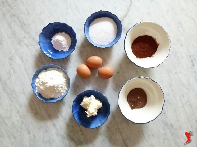 ingredienti torta alla nutella