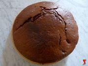 La torta cacao e pere