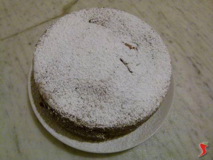 La torta cacao e ricotta