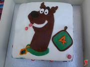 torta con scooby-doo