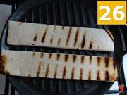 abbrustolire il pane bianco