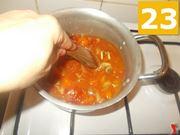 La cottura del sugo