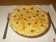 La focaccia alle olive